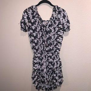 LoveShackFancy Short Sleeve Popover Dress